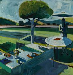 "Roland Petersen ""Silent Light"", 1968 (Denmark / USA, Bay Area Figurative Movement, 20th cent.)"