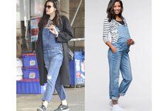Liv Tyler : une salopette en jean : Copiez les looks de stars enceintes - Journal des Femmes