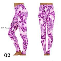 Printed Leggings Fashion Women's Pattern Print by TDcollections, $20.00 Print Patterns, Pattern Print, Tee Shirts, Tees, Lace Back, Tight Leggings, Luxury Handbags, Leggings Fashion, Printed Leggings