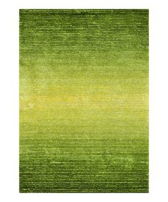 Take a look at this Green Glow Jasper Shag Rug by Loloi Rugs on #zulily today!