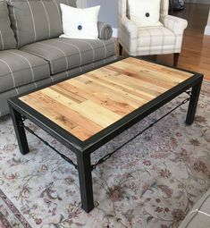 Hand made coffee table, industrial table, industrial coffee table, rustic table, vintage industrial Industrial Style Coffee Table, Vintage Industrial Furniture, Industrial Interiors, Rustic Industrial, Industrial Shelving, Industrial Windows, Kitchen Industrial, Industrial Chair, Industrial Office