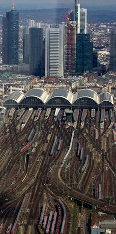 Germany - Frankfurt main railway station