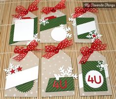 Confetti Background, Diagonal Stripes Background, Let it Snowflake Die-namics, Tag Builder Blueprints 1 Die-namics - Amy Rysavy #mftstamps