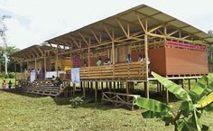 Elisa Marin and Manfred Barboza, Shiroles Rural School, Shiroles, Costa Rica. Tremendous work on a shoestring budget, with construction help from the community and the architects themselves. The slideshow at the Architectural Record reveals the interior is well-lit and feels modern.