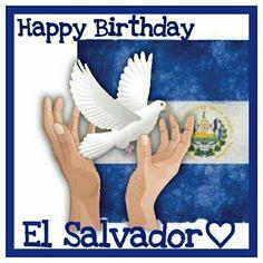 Happy Independence El Salvador♡