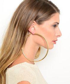 Huge Hoop Earrings Google Search Silver Hoops
