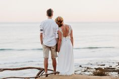 Wedding photo session on Algarve beach in Portugal.