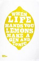 Gin and Tonics are made with limes.