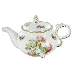 Royal Rose Porcelain Teapot