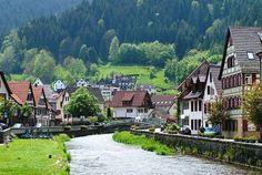 Schiltach, Schwarzwald, Deutschland
