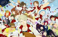 Sports Day, School Sports, Alucard Mobile Legends, The Legend Of Heroes, Mobile Legend Wallpaper, Anime Version, Bang Bang, All Art, True Colors
