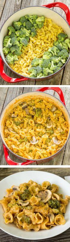One Pot Wonder Pasta Con Broccoli - The Wholesome Dish