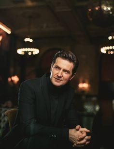 Richard Armitage. Broadway Interview at the Jane Hotel in NYC.