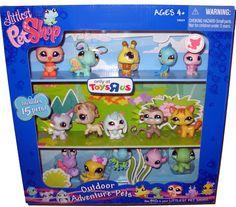 Littlest Pet Shop Toys | ... new for 2009 Littlest Pet Shop Outdoor Adventure Pets 15 pet multipack