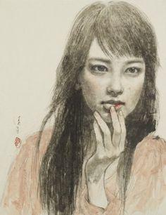 Abe, Kyoko「手負いの蕾」P10 2011