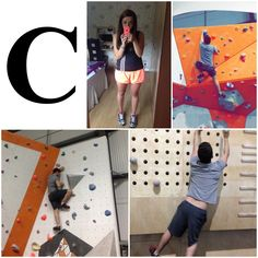 C is for Climbing! Gaz showing off his spider man skills whilst I was weak and pathetic at climbing! 😂 #AlphabetDating #AlphabetDates