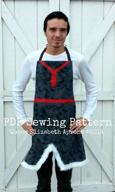 "Adult FROZEN Kristoff Mens PDF Sewing PATTERN. Disney inspired Costume Apron. Disneyland outfit Fits men 28""- 42"" Birthday Party Photo Prop."