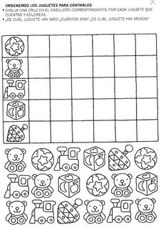Crafts,Actvities and Worksheets for Preschool,Toddler and Kindergarten.Lots of worksheets and coloring pages. Graphing Worksheets, School Worksheets, Kindergarten Worksheets, Worksheets For Kids, Teaching Numbers, Teaching Letters, English Exercises, Classroom Behavior Management, Teaching English
