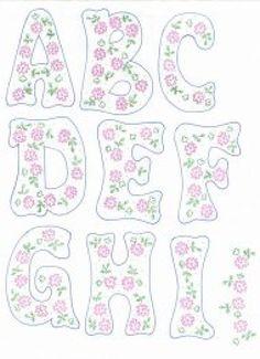 patrones de letras | Aprender manualidades es facilisimo.com: