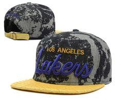 45a7b0b48b7 Casquette NBA Los Angeles Lakers Snapback Gris Jaune New Era 3 Casquette  New Era Pas Cher