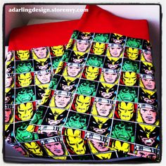 """Marvel Avenger PillowCases by adarlingdesign  feel free to repin but do not remove """"adarlingdesign"""" from image"""