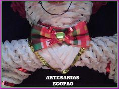 Colgador de toallas - Artesanias Ecopao