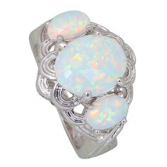 Find More Rings Information about High quality suppliers Wholesale Fashion Rings for women White Fire Opal silver jewelry ring size 5 6 7 8 9 R415,High Quality ring lens,China ring jade Suppliers, Cheap ring setting from Dana Jewelry Co., Ltd. on Aliexpress.com