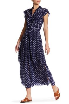 Criss Cross Maxi Dress by Rebecca Taylor on @nordstrom_rack