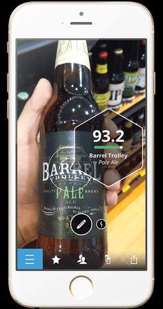 App que te permite saber cuanto te va a gustar una bebida antes de comprar #App #Innovación a través de Springwise