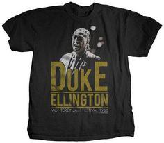Tshirt:Jazz-Duke Ellington Monterey Jazz Festival '66