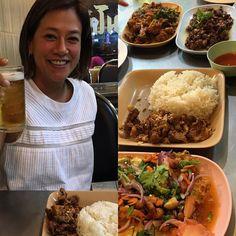 """Chegámos a Bangkok. E fomos recebidos por uma pessoa muito especial. A Chawadee Nualkhair é autora do blog """"Bangkok Glutton"""" e uma especialista da comida de rua de Bangkok. Foi ela que nos levou a jantar em mais um episódio """"One Night Stand with"""" que poderão ver brevemente. Comemos sapo os melhores noodles de pato da cidade e para a sobremesa um nam kaeng sai fresquinho. E ainda tivemos a sorte de conhecer o Dwight autor do blog """"Bangkok Fatty"""". Bangkok promete (e vai cumprir como sempre)…"""