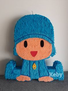 Big Piñata of Pocoyo or the desired figure that you like Birthday Pinata, Monster Birthday Parties, 1st Boy Birthday, 3rd Birthday Parties, First Birthday Decorations, First Birthdays, Lol, Pinata Ideas, Quilling Designs