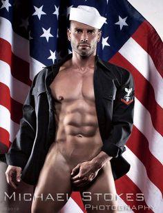 Model: Stephane Haffner By: Michael Stokes Male Fitness Models, Male Models, Fitness Men, Michael Stokes Photography, Gay, Navy Man, Men In Uniform, Military Men, Man Photo