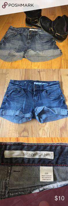 DKNY Jeans cut off shorts Everyday shorts that your closet NEEDS!! Dkny Shorts Jean Shorts