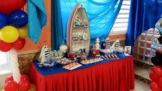 Candy bar Mickey sailor birthday