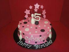 Bowling theme birthday cake -  Happy Birthday Camryn