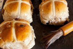 Our hot cross buns recipe is too good to just make at Easter. This is our family recipe to an enriched dough and significantly crossed at Easter. You will get a