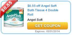 High Value $2.00/1 Angel Soft Coupon + Upcoming Deal at CVS