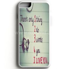 I Love You iPhone 7 Case | aneend
