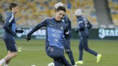 Manchester City midfielder Samir Nasri has said he is not expecting to be included in France's World Cup squad.