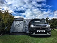 Fiat Doblo MicroCamper with Sunncamp Lodge 200 awning