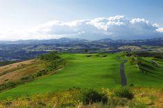 5th hole at Tierra Rejada Golf Club  382 yard par 4