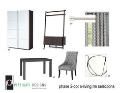 Eco Friendly Interior Design- Option A- Living Room Selections... #interiordesign #ecofriendly #NYC www.pizzigatidesigns.com