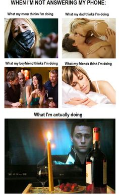 Hahaha! Loki & I would have awesome dinner dates :)