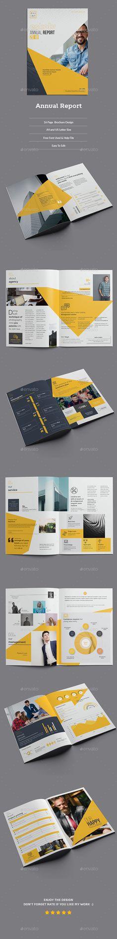 #Annual #Report #Template - Corporate Brochures