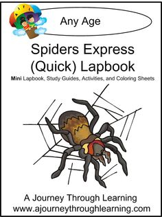 Spiders Express (Quick) Lapbook 1.00!