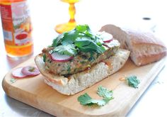 Asian Chicken Burgers w great pics and directions