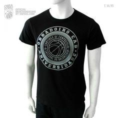 Camiseta oficial negra OBRADOIRO CAB, temporada 2014/15. Website, T Shirt, Seasons, T Shirts, Supreme T Shirt, Tee Shirt, Tee