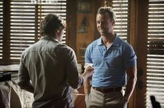 Still of JR Bourne and Barry Sloane in Revenge