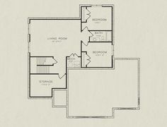 Sarah Basement Floor Plan